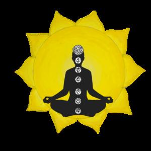 Alicia Lee Wade Art with Meditation Figure