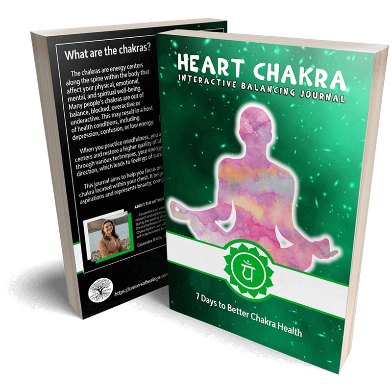 Heart Chakra Interactive Journal